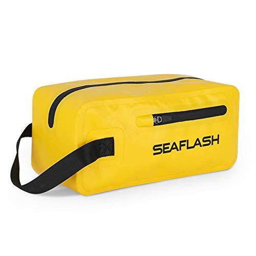 N-B Bolsa impermeable, bolsa seca, bolsa de natación separación húmeda y seca, bolsa de almacenamiento impermeable, perfecta para senderismo/campamento/barco/pesca/rafting/natación