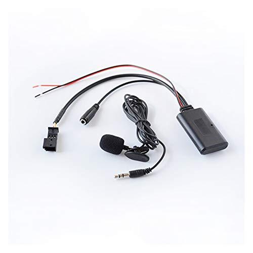 RJJX 5 unids Coche Radio Inalámbrico Bluetooth5.0 Teléfono Llamada Manos Libres Auxiliador...