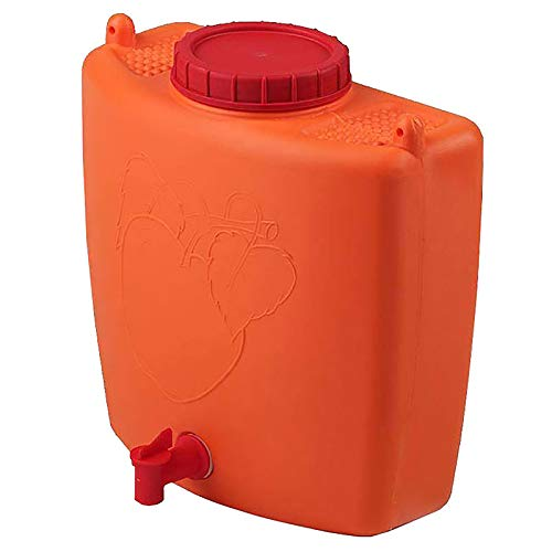 4BIG.fun Wasserspender 9 L mit Wasserhahn Camping Gartenhaus Datscha Rukomojnik Kanister