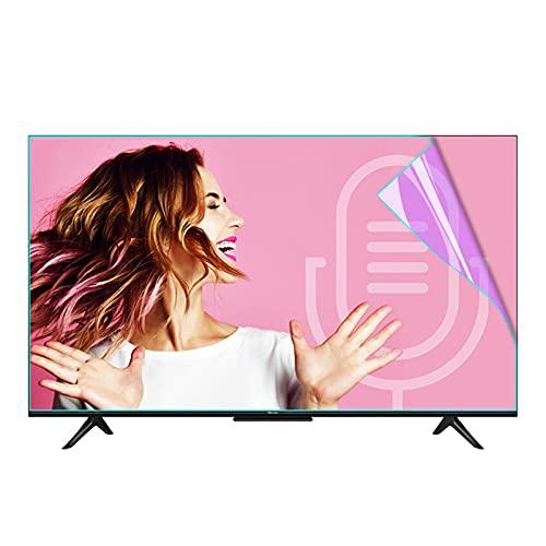 KELUNIS Protector De Pantalla De TV Mate, Antideslumbrante De Luz Azul Película De TV Tasa De Anti-Reflejo hasta 90% para Family TV Eyes Fatigue Protection,49' (1075 * 604)
