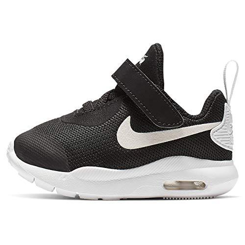 Nike Baby-Jungen Air Max Oketo (TDV) Sneaker, Black/White, Numeric_21 EU