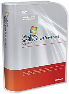 Microsoft Small Business Server 2008 Standard, SP2, DE - Sistemas operativos (SP2, DE, PC, DEU, 2 GHz, Microsoft Windows XP Professional/Vista/Windows Mobile 5.0 +)