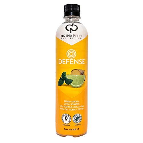 DrinkPlus Bebida Pasteurizada Adicionada, Limón Jengibre, 500 ml