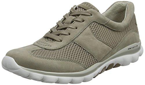 Gabor Shoes Damen Rollingsoft Derbys, Braun (Visone), 37 EU