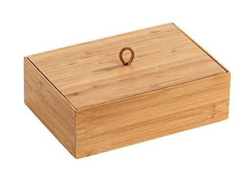 WENKO Bambus Box Terra L mit Deckel