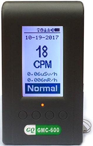 GQ GMC-600 Plus Geigerzähler / Dosimeter / Strahlungsmessgerät, Alpha-, Beta-, Gamma-, Röntgenstrahlen, LND 7317