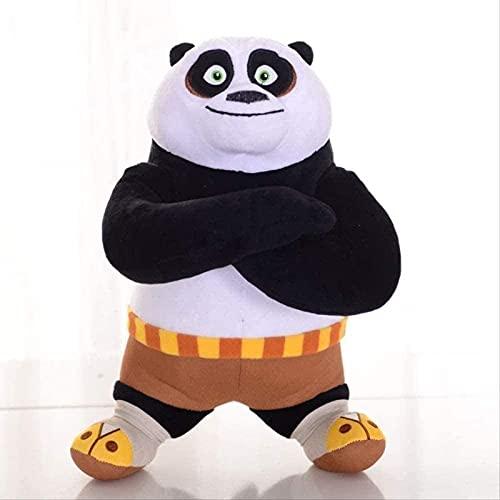 LUOYEPIAO Kung Fu Panda Toy Llush Cut 30 CM Peluche Animales Colección Muñeca Juguete Día de los niños Regalo