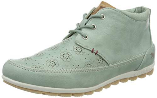 MUSTANG Damen 1355-501-706 Hohe Sneaker, Grün (Mintgrün 706), 40 EU