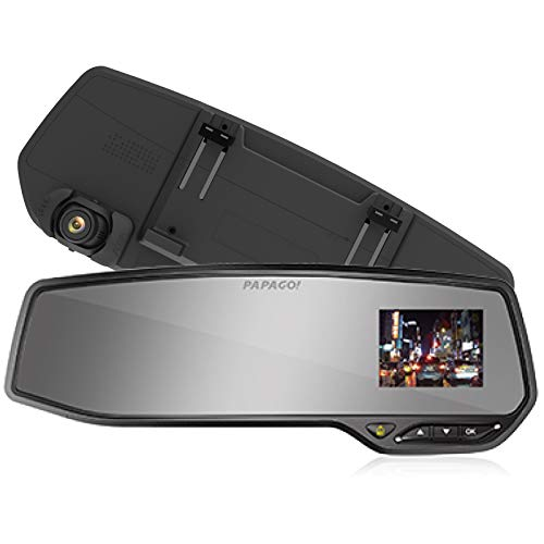 PAPAGO! GoSafe 268 SONY製CMOSセンサー搭載ルームミラー型ドライブレコーダー GS268-16G