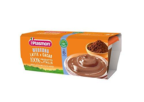 Plasmon Merenda al Latte e Cacao - 24 Vasetti da 120 gr