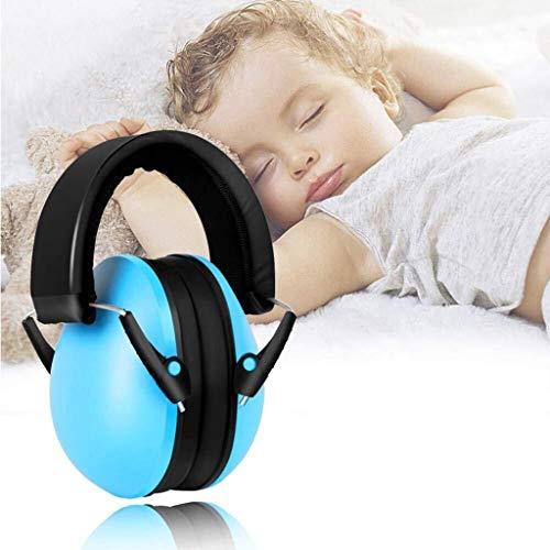Oorbeschermers voor kinderen oorbeschermers met reistas voor kinderen (blauw)
