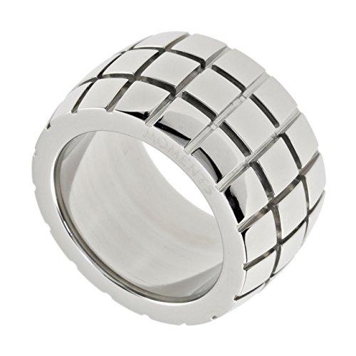 M&M Jorge Plum diseñador-anillo mujer cinta anillo acero inoxidable 5451R4 -12