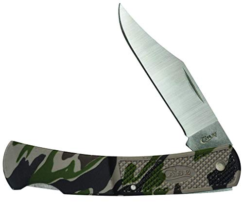 CASE XX WR Pocket Knife Case Caliber Camo Lockback Item #118 - (Lt1405L SS) - Length Closed: 3 3/4 Inches