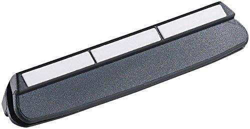 TokioKitchenWare Schleifhilfe: Winkelhalter für gleichmäßiges Schleifen mit Wasser-Schleifstein (Schleifhilfe Winkelhalter)