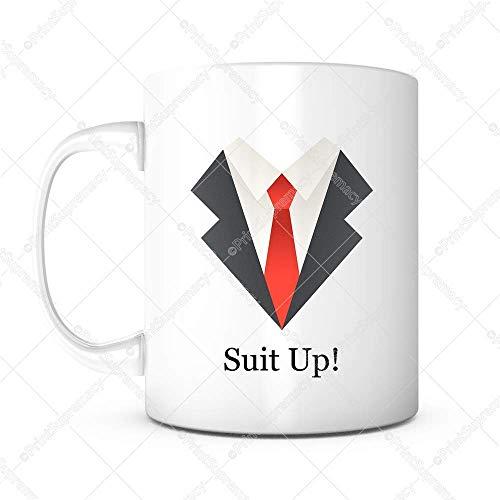 Pak Up Red Tie-Coffee Mok Party Favor Mannen, Bruiloft Verjaardagscadeau