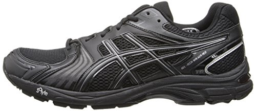 ASICS Men's Gel-Tech Walker Neo 4 Walking Shoe,Black/Black/Silver,7.5 M US