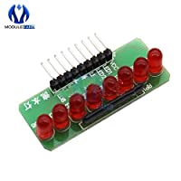 Water Light Marquee 5MM RED LED Light-emitting Diode Single Chip Module Diy Electronic MCU Expansion 8 Way FLOW