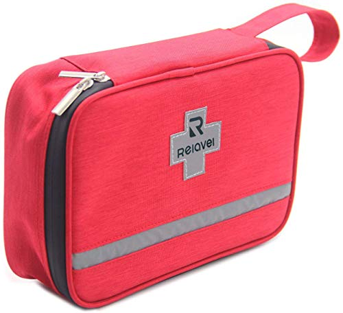 First Aid Kit Bag Reflective Emergency Empty Bag Emergency Equipment Kits Gift Choice for...