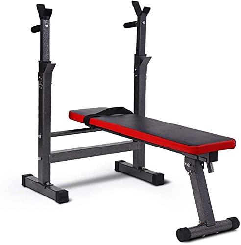 CWZY Verstellbare Gewicht Bank Home Training Gymnastik Gewichtheben Bettbank Presse Herren Fitness Barbell Rack Multifunktionale Regal Verstellbare Halterung Home Indoor Gymnastik Squat Rack