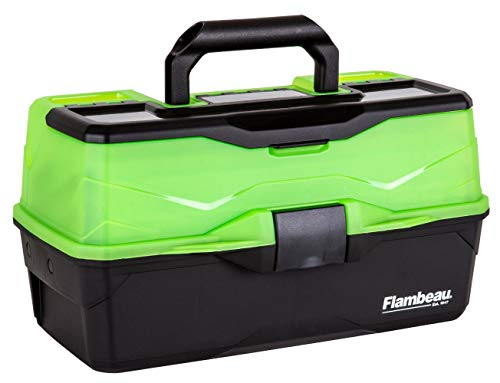 Flambeau Outdoors 3 Tray - Frost Green/Black