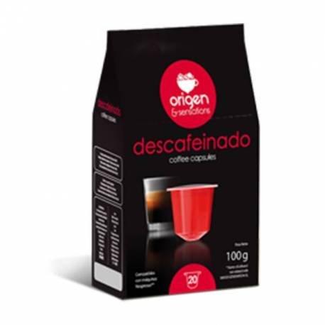Nespresso Cápsulas Compatibles - Descafeinado - 120 unidades - Origen & Sensations - OFERTA