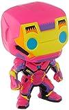 Funko- Pop Marvel Black Light Iron Man Juguete coleccionable, Multicolor (48846)