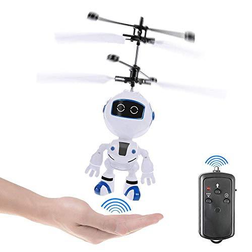 Mini ROBOT ROBOT ROBOT CREATIVO SENSOR SUSPENDIDO SENSOR DE INFUMITOS DE INTERNO DE INTERNO USB JUEGOS DE CARGA DE CARGA DE USB ANTERIORES Y JUEGOS AL AIRE DESPORTE ADECUADOS for NIÑOS MÁS DE 3 AÑOS D
