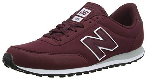 New Balance 410, Zapatillas para Hombre, Rojo (NB Burgundy/White/Silver Mink...