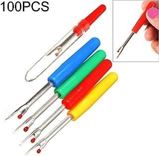 Apparel Accessories 100 PCS Small Seam Remover Plastic Handle Seam Cutter Cross Stitch Sewing Stitcher Apparel Accessories