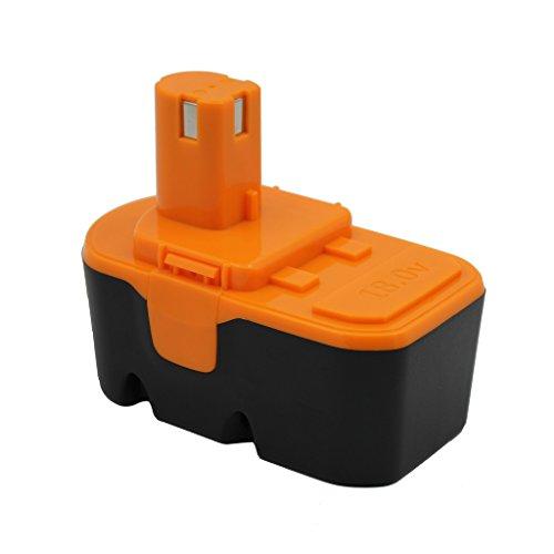 Kinon Ersatz Elektrowerkzeug Batterie 18V 2.0Ah für Ryobi Akku Bohrschrauber Impact Driver 130224028 130224007 130255004 ABP1801 ABP1803 BPP-1813 BPP-1815 BPP-1817 BPP-1820 BID-180L CDI-1802M