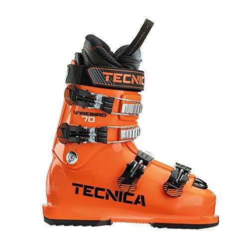 Tecnica Junior Firebird 70 Freeride Race Skischuhe Ultra Orange 25,5 mm