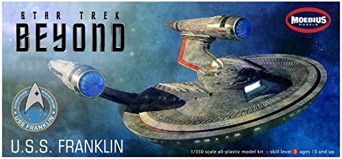 Moebius 975 Star Trek Beyond USS Franklin NX-326 1/350 Scale Plastic Model Kit