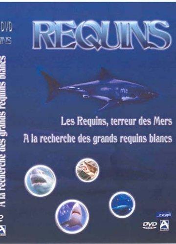 Coffret requins : les requins terreur des mers ; a la recherche des grands requins blancs