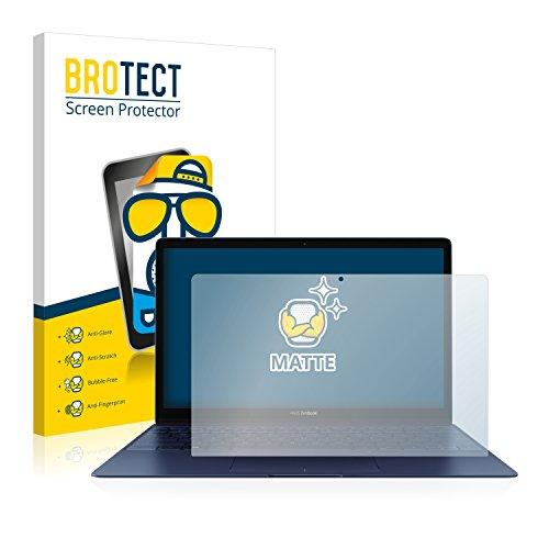 BROTECT 2X Entspiegelungs-Schutzfolie kompatibel mit Asus ZenBook 3 UX390UA Bildschirmschutz-Folie Matt, Anti-Reflex, Anti-Fingerprint