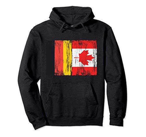 Deutschland und Kanada deutsch kanadisch Fahne Flaggen Pullover Hoodie
