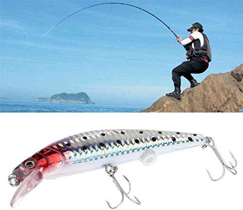 Surfilter Elektroköder Lebensechte wiederaufladbare USB-LED Zuckende Fischköder Vibrationsfischköder Triple Reble Hook Elektronische Fischköder