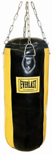 Everlast 3076 - Saco de 4 Paneles, Color Amarillo/Negro