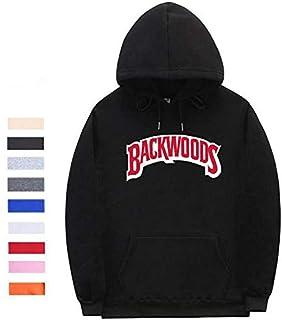 The screw thread cuff Hoodies Streetwear Backwoods Hoodie Sweatshirt Men Fashion autumn winter Hip Hop hoodie pullover