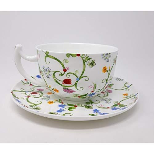 Tea Logic Frühstückstasse Fleurette 500ml