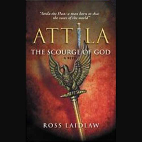 Attila audiobook cover art