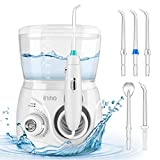 Best Dental Water Picks - Initio Water Dental Flosser 2 Modes, 10 Adjustable Review