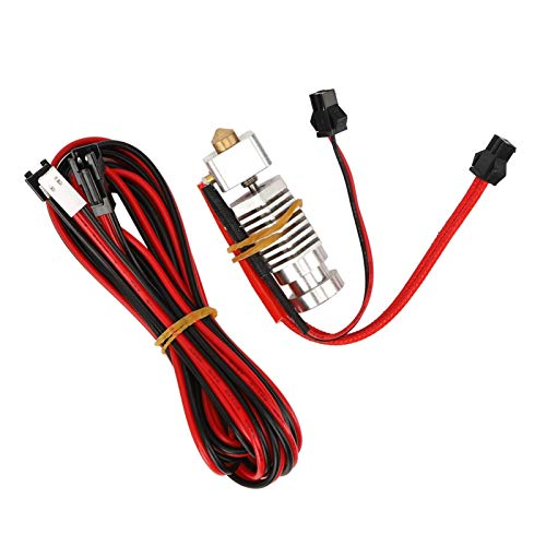 Pre-Assembled Kit Printers Supplies Extruder Nozzle Industrial Accessory 3D Printer Parts Aluminum Alloy for Power for Electronics for 3D Printer