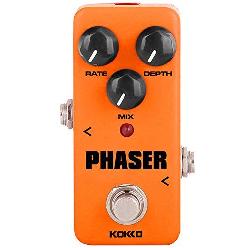 XuBa KO-KKO FPH2 Vintage Phaser Gitarren Effektpedal mit True Bypass