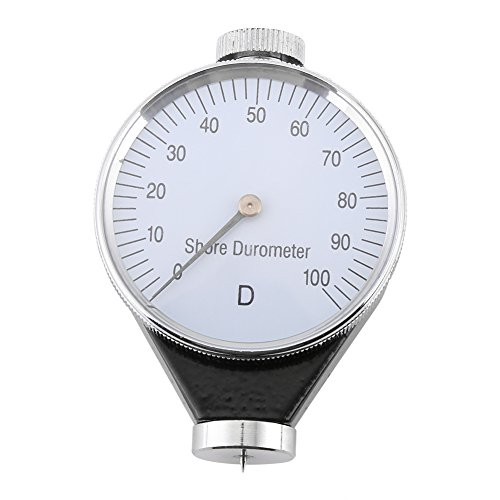 Gummihärteprüfer, Shore Typ A/O/D Gummireifen Durometer Härteprüfer Messgerät 0-100 HA(D)