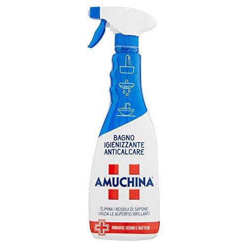 Amuchina - Spray Bagno, Igienizzante Anticalcare - 4 pezzi da 750...