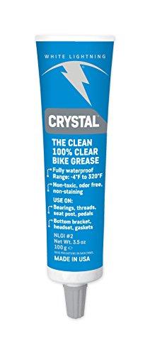 White Lightning Crystal Grease Adulte Unisexe, Bleu, 100gr