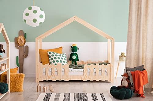 Cama infantil Montessori, cama infantil, mueble infantil, cama infantil, cama infantil, cama con somier