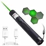 LGQ Linterna con Cable USB para enseñanza de astronomía y conferencias y Juguete Multifuncional para Mascotas e iluminación Exterior y proyector de demostración y Senderismo, Caza y Pesca, etc.