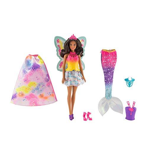 Barbie Dreamtopia Muñeca con Accesorios Intercambiables