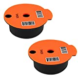 Fenteer Tazas de Cápsula de Café PP Recargables Y Reutilizables con Tapa Slicone para Máquina de Café Bosch Tassimo de 60 Ml